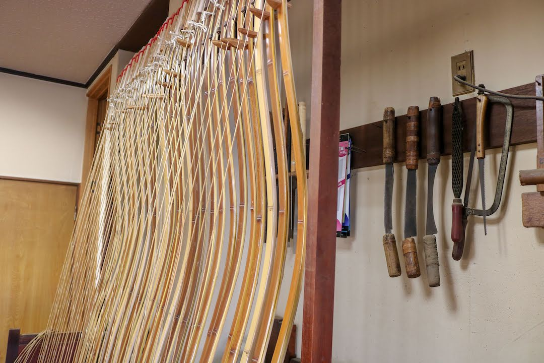 The craftsmanship of a master, traditional crafts of Miyazaki